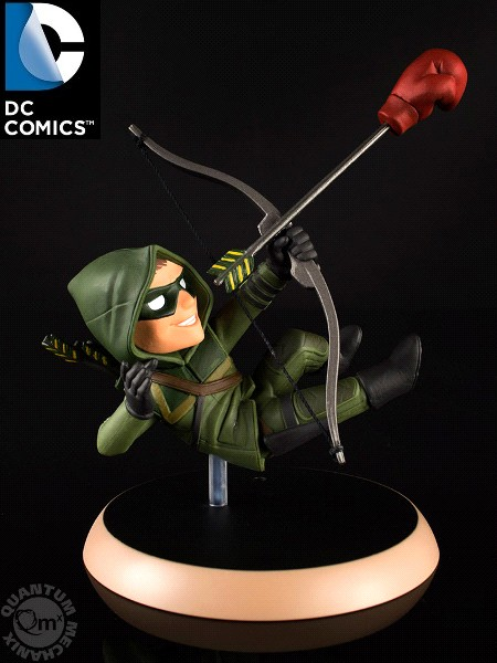 QMx DC Comics Arrow TV Series Green Arrow Q-Fig PVC Figure
